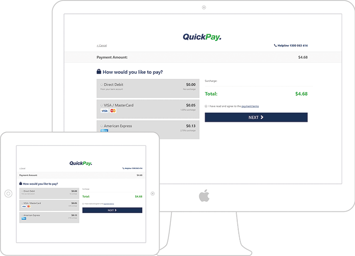 Balance and QuickPay